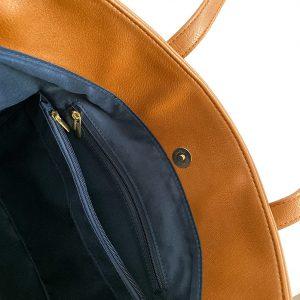 A4シンプルトートバッグ ミニポケット