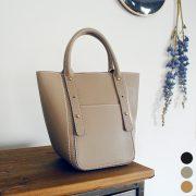 持つだけでエレガントになる!BISOUの秋のこっくりカラー縦型ハンドバッグのご紹介!
