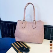 【女性必見】A4ファイルが入る通勤BISOUのプチプラトートバッグの魅力をご紹介
