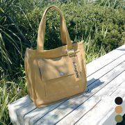 秋の旅行やちょっとしたお出かけにおすすめ!BISOUの大きめキャンバスバッグ