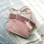 秋冬バッグはプチプラの大人可愛いコーデュロイ×ファーで決まり!
