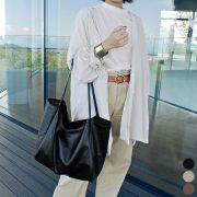 荷物の多いママにこの冬すすめたい大容量&軽量なビッグトートバッグ!